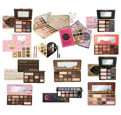 Chocolate/ Glitter /Sweet Peach Eye Shadow paleta de sombra de ojos Too Faced