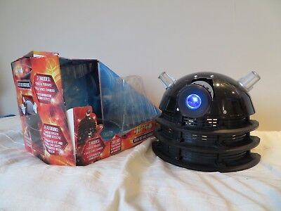 Dr Who Dalek Sec voice changer helmet, boxed and working