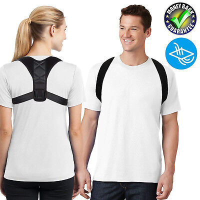 Posture Corrector for Thoracic Kyphosis and Shoulder - Neck Pain Relief - Unisex