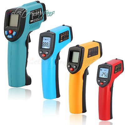 GM320/GM550/DT-8809CC Infrared Thermometer Non Contact Pyrometer IR Laser