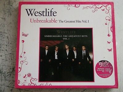 WESTLIFE UNBREAKABLE THE GREATEST HITS music cd.