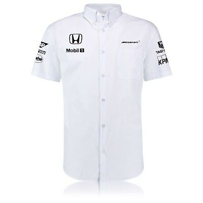 Mens McLaren Management Shirt Official F1 New Size L 100% Cotton