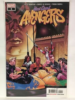 West Coast Avengers (Vol 3 2018 Series) #5 NM- 1st Print Marvel Comics
