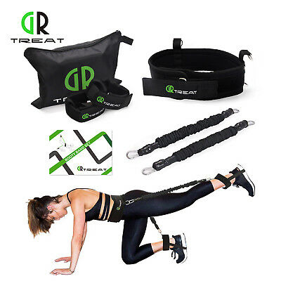 GR Booty Band Set - Resistance Bands Exercise Belt for Leg and Butt Tone 20/35lb