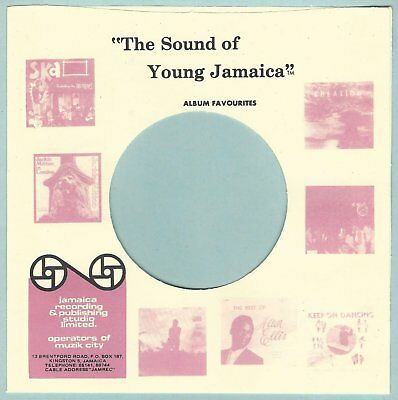 SOUNDS OF YOUNG JAMAICA REPRODUCTION RECORD COMPANY SLEEVES - (pack of 10)