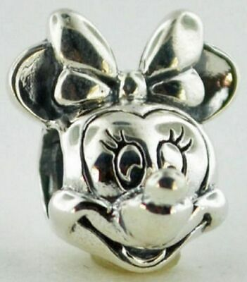 DISNEY MINNIE PORTRAIT AUTHENTIC PANDORA Sterling Silver CHARM 791587