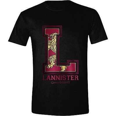 Game Of Thrones - House Lannister Varsity - Official Mens T Shirt