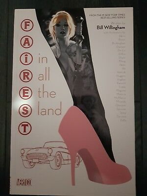 Fairest, In All The Land, Graphic Novel, Bill Willingham, NEW, Adam Hughes, DC