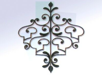 Coat hangers COAT RACKS WROUGHT IRON CONCEALED 4 Places wall