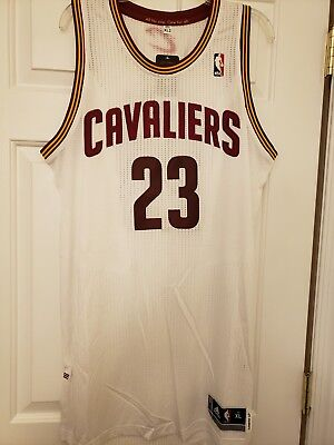 97538aae2f7 100% Authentic Adidas LeBron James Cleveland Cavaliers Jersey Men s XL  Lakers