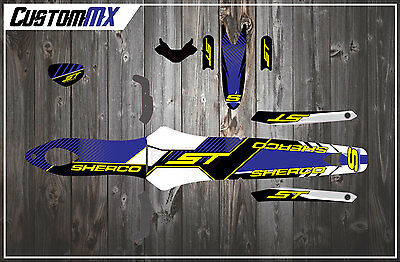 Sherco St 2002-2005 Trials Full Graphics Kit - Bike Decals Stickers