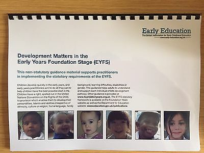 Early Years Foundation Stage statutory framework EYFS Development Matters