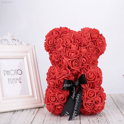 40cm Teddy Bear Lovely Big Red Rose Flowers Bear Creative Valentine's Xmas Gifts