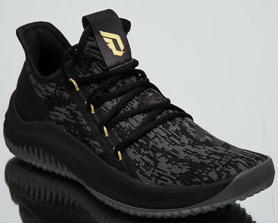 best sneakers c6804 3ebeb adidas Dame D.O.L.L.A. New Men s Basketball Shoes Core Black Grey Gold  AQ0831