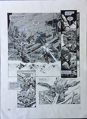 2000AD A.B.C. Warriors The Black Hole Prog 562 Page 11 1988