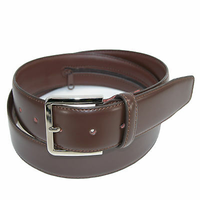 New CTM Men's Leather Travel Money Belt (Large Sizes Available)