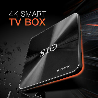 S108 Quad Core STB Android 7.1 4K Smart TV STB Amlogic S912 2G/16G Bluetooth