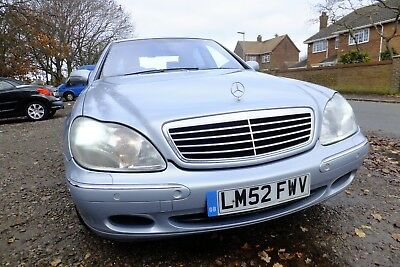 Mercedes S Class 320 Limo 03 Perfection To Drive 145K Warrented Miles L@@k 1695