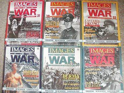 Images Of War Magazines Issues 31-36