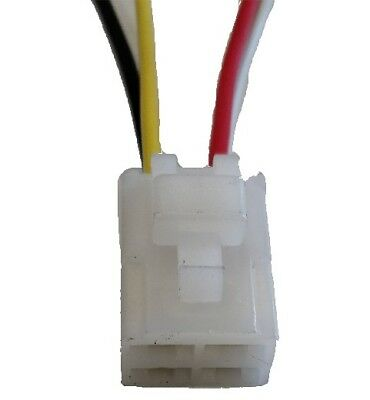 4 Pin Way Relay Connector Plug Socket With Pigtail And Clip Pl60-Wl