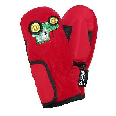 New Grand Sierra Toddlers 2-4 Embroidered Waterproof Mittens