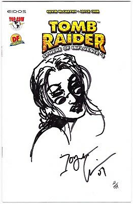 Tomb Raider: Sphere Of Influence #1 - Remarked Edition By Joyce Chin - Ltd To 99