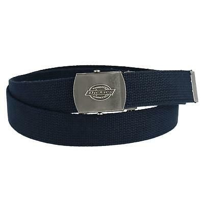 New Dickies Men's Adjustable Fabric Belt with Military Buckle