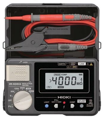 Insulation Resistance Tester for Photovoltaic System IR4053-10 HIOKI from Japan