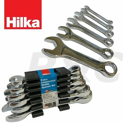 9 Piece Dickie Dyer Stubby Metric//mm Combination Spanner Set 6-14mm