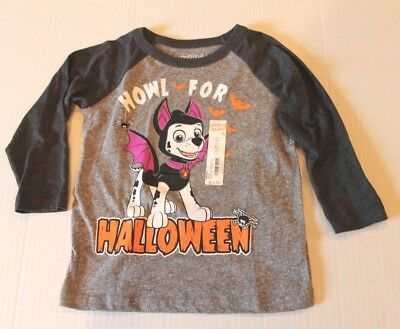 Jumping Beans Paw Patrol Halloween Tee Shirt Top Toddler Boy Size 3T NEW