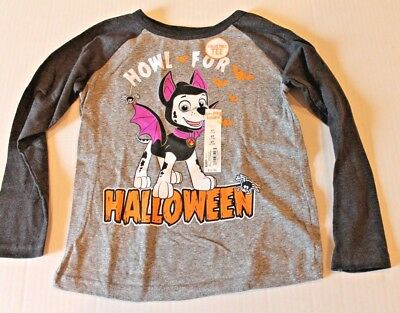 Jumping Beans Paw Patrol Halloween Tee Shirt Top Toddler Boy Size 5T NEW