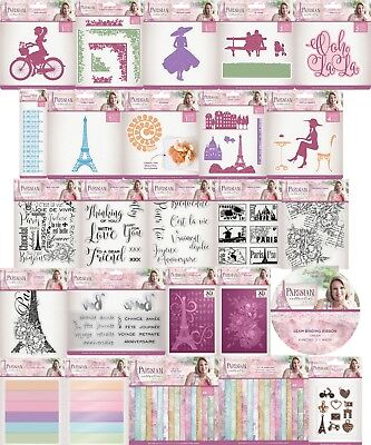 Crafters Companion - Parisian - SARA SIGNATURE COLLECTION - Cardmaking