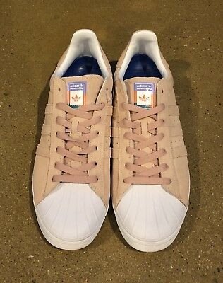 5ac8a17aadf Adidas Superstar Vulc ADV Pastel Pink Size 11 US Skate Shoes Sneakers  Deadstock