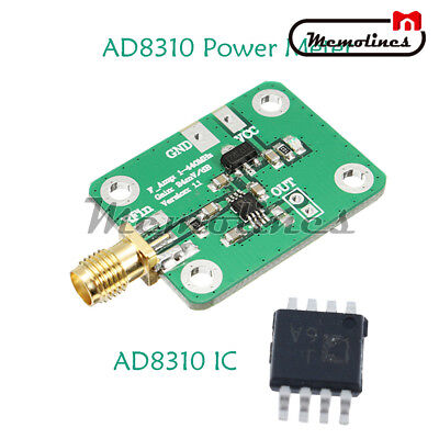 AD8310 0.1-440MHz High-speed H-frequency RF Logarithmic Detector Power Meter