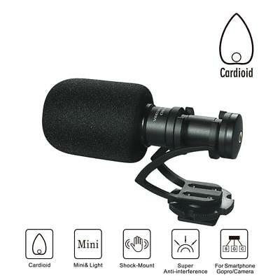 Comica CVM-VM10 II Cardioid Shotgun Video Microphone for DJI OSMO Mobile Plus