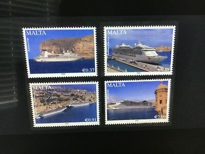 Malta 2009 Maritime Cruise Liners  Unmounted Mint   VF