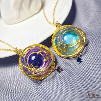 New Final Fantasy 14 Astrology Necklace Handmade Pendant Day And Night Girl Gift