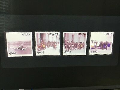 Malta 2009 Vintage Postal Transportation  Mint NH SG1615/1618  VF