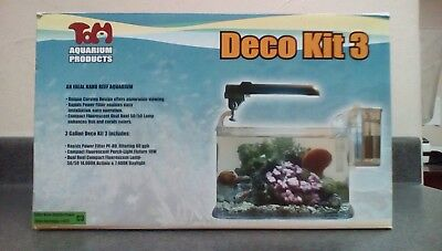 TOM Deco Kit 3: An Ideal Nano Reef Aquarium