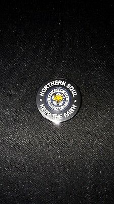Leicester City FC Northern Soul Keep The Faith Pin Badge
