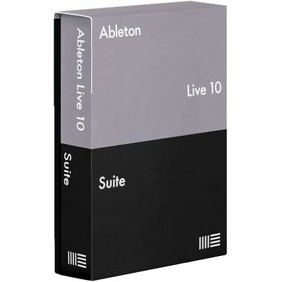 Ableton Live 10 Suite Music Editing Software Electronic Download