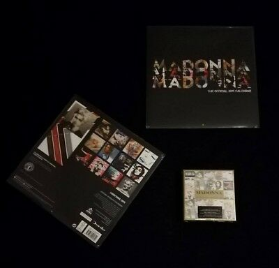 Madonna The Complete Studio Albums + Official Calendar 2019 Sealed
