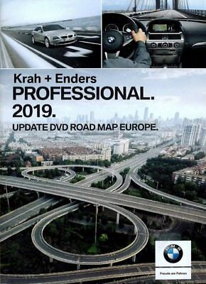 Bmw Road Map Europe 2019 Professional (3 dvd) / High (2 dvd + Firmware 1 cd)