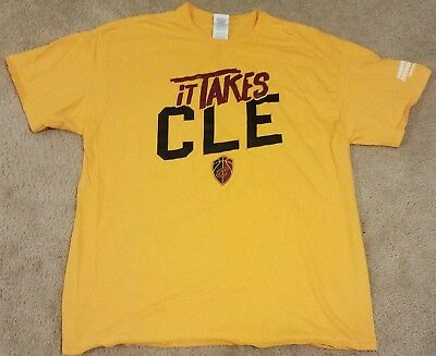 2018 Cleveland Cavaliers Sga It Takes Cle Xl Shirt 2018 Eastern Conferenc Finals