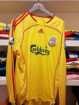 Maglia F.c.liverpool 06-07 Jersey Player Issued