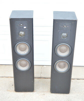 pair ADS A/D/S L1090 TOWER SPEAKERS need some TLC LOOK & READ