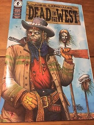DEAD IN THE WEST Comic Book Number 2 1994 Excellent Great Shape Dark Horse