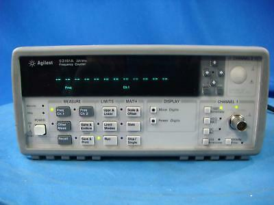 Agilent 53181A 10 digit/s, 500 ps Universal Frequency Counter