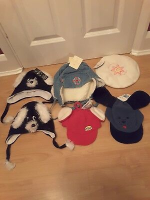 Job Lot Of Kids Hats