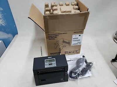 * Citizen CL-S400DT Direct Thermal Ticket Printer